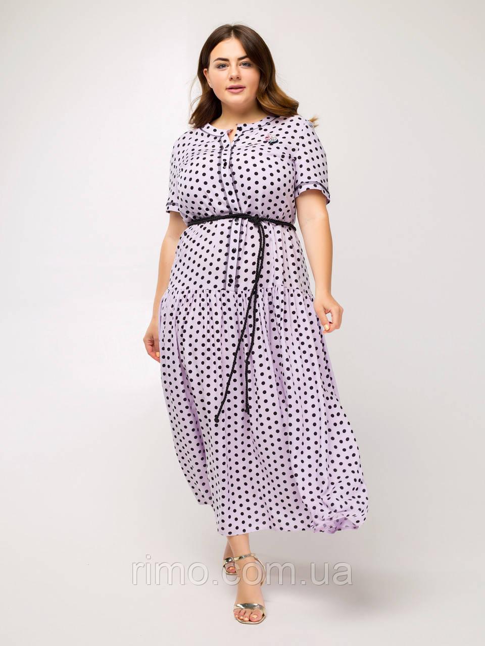 Плаття літнє великого розміру Маниста