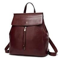 Женская сумка-рюкзак трансформер Loren redwood