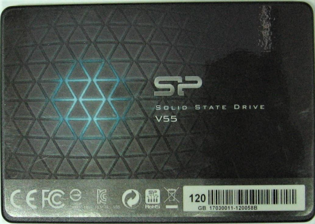 Накопитель SSD 120GB SATA III TLC 2.5 Silicon Power V55 SP120GBSS3V55S