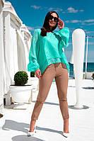 """Летняя рубашка больших размеров """" Органза """"  Yulia, фото 1"""