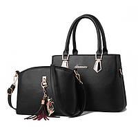 Женская сумка + мини сумочка клатч