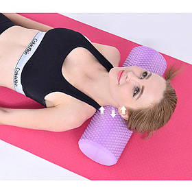 Валик (ролик, роллер) массажный для йоги, фитнеса (спины и ног) OSPORT (MS 2346)