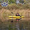 Байдарка надувний Човен ЛБ-300УВ одномісна Базова Турист для гладкої води, фото 8