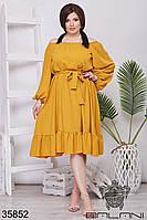 Женское летнее платье 48-52,54-58