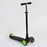 Самокат трехколесный Best Scooter Maxi 466-113 / А 24144 Черный, фото 1