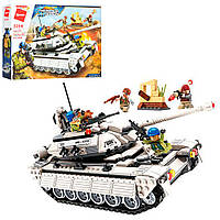 """Конструктор Qman 3206 """"Громова місія"""": танк, фігурки, 430 дет."""