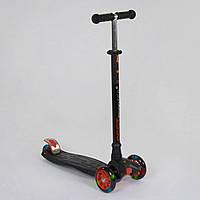 Самокат трехколесный Best Scooter Maxi 466-113 / А 24555 Черный, фото 1