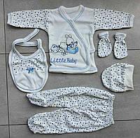 Подарочный набор для новорожденных 5 единиц 0-3 мес, фото 1