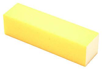 Баф для ногтей квадратный желтый