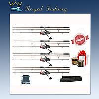 Качественние наборы для ловли коропа удилища Bratfishing Excalibur Carp 3.3m леска в ПОДАРОК!!! №101