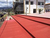 Антискользящее, противоскользящее покрытие, краска PAV-13, Испания