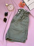 Шорты джинсовые Багги женские на резинке 25, 26, 27, 28, 29, 30, фото 2