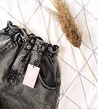 Шорты джинсовые Багги женские на резинке 25, 26, 27, 28, 29, 30, фото 3