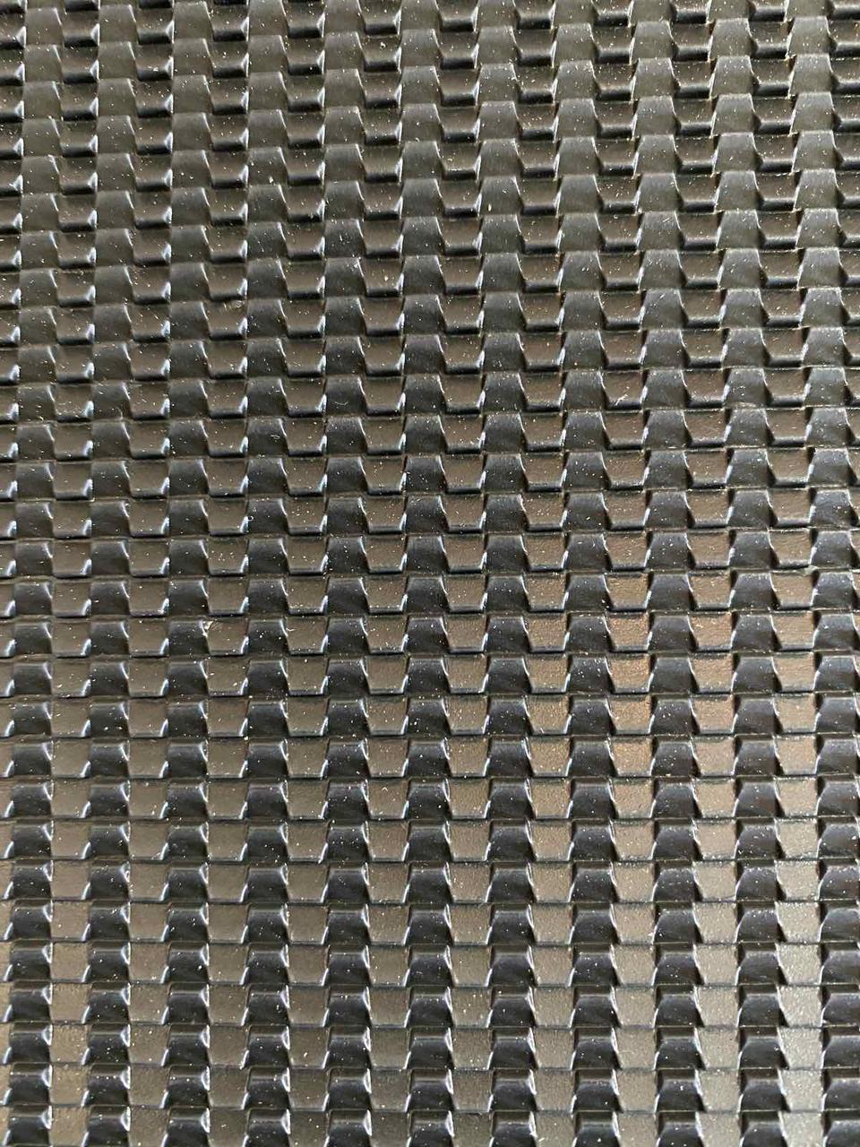 """Профилактика повышенной прочности """"Каскад"""" 570мм×380мм×2мм черная Премиум класса"""