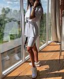 Женский костюм футболка велосипедки + пояс, фото 6