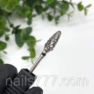 Твердосплавная фреза кукуруза с черной насечкой, фото 2
