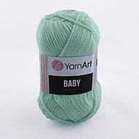 Пряжа Baby 50гр - 150м (623 Мятный) YarnArt