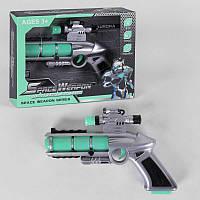 Пистолет 839-2 (84/2) свет, звук, на батарейках, в коробке