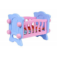 "Кроватка для куклы 4166 (4) ""ТЕХНОК"", в коробке"