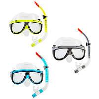 Набор для детей и подростков маска и трубка Dolvor М213