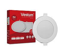 Світильник LED врізний круглий Vestum 9W 4000K 220V