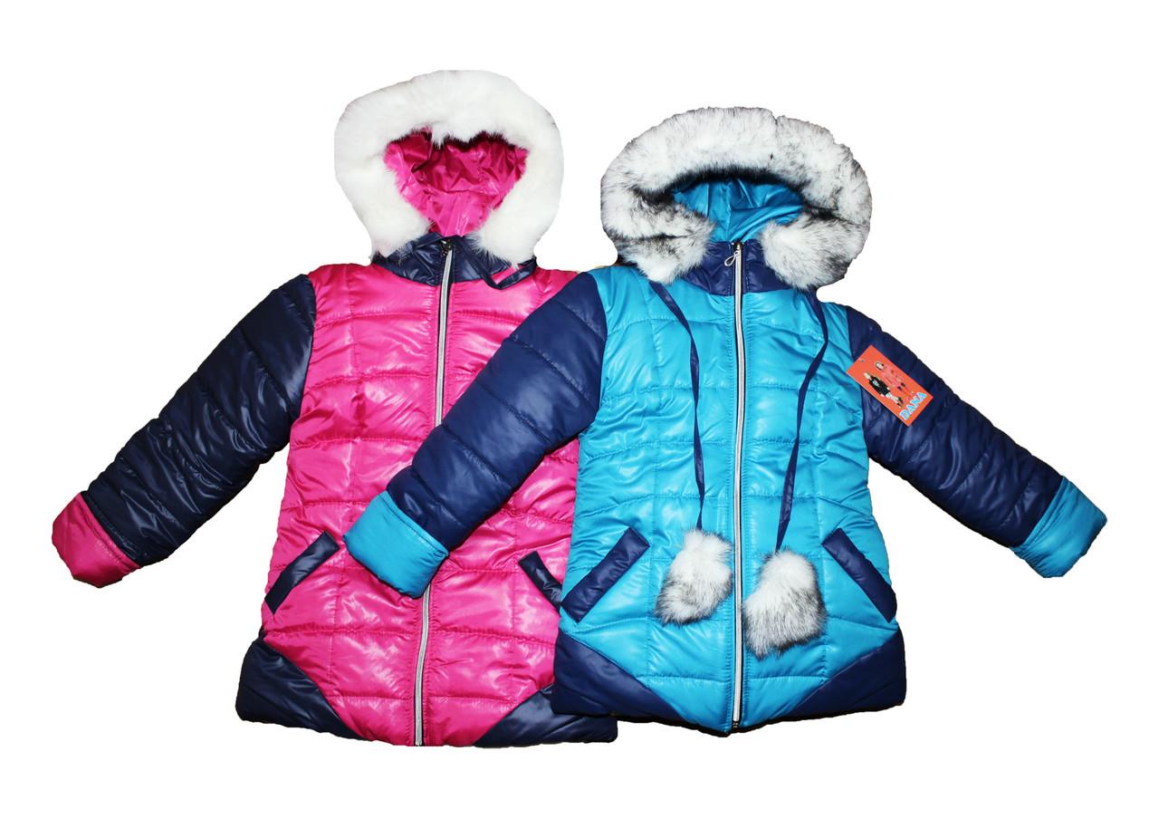 Курточка детская  на меху для девочки. Данна.