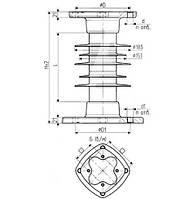Изолятор ОСК 12,5-35-В02-3 УХЛ1