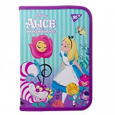 """Папка для тетрадей YES пластиковая на молнии В5 """"Alice"""""""