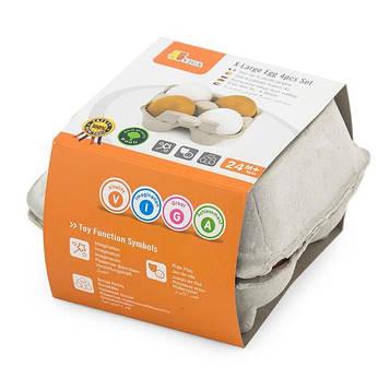 Набор кулинара Viga Toys Лоток с яйцами 4 шт. (50044)