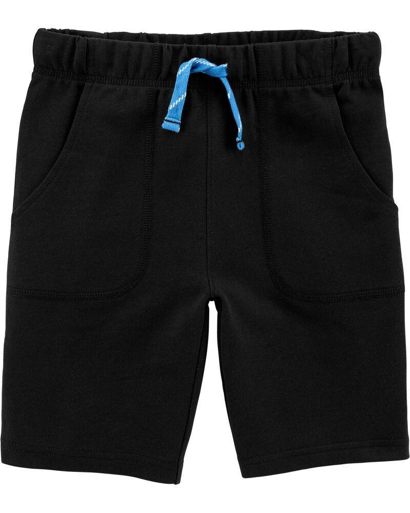 Черные летние шортики Картерс для мальчика