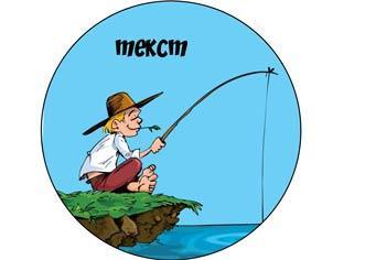 "Вафельна картинка ""Рибалка"""
