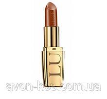 Увлажняющая губная помада LUXE AVON Lipstick  Couture Copper - Медное сияние