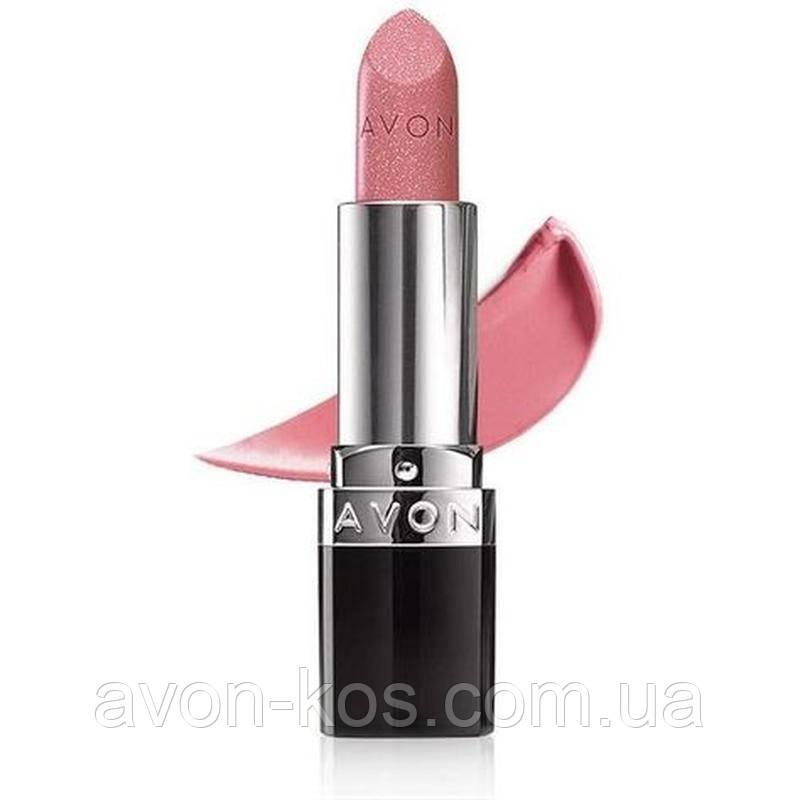 Губна помада Ультра AVON Twinkle Pink -Рожевий вогник -Ultra Color Lipstick