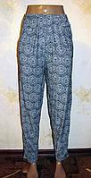 Тонкие летние брюки галифе, БАТАЛ 50-56 размер, фото 1