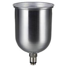 Бачок для фарбопульта металевий (зовнішня різьба) 600 мл AUARITA PC-600GLG