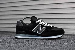 Кроссовки мужские New Balance 574 Black