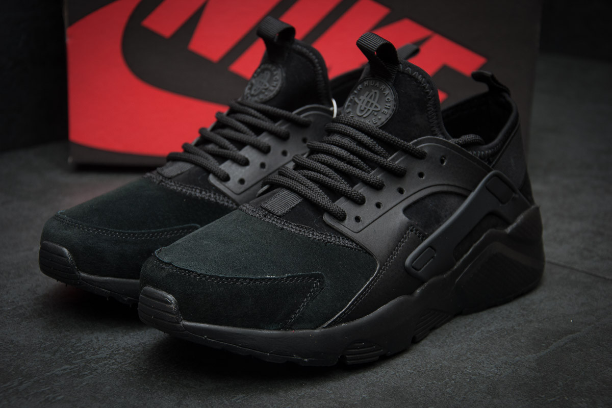 Кроссовки мужские Nike Air Huarache, черные (11595),  [  43  ]