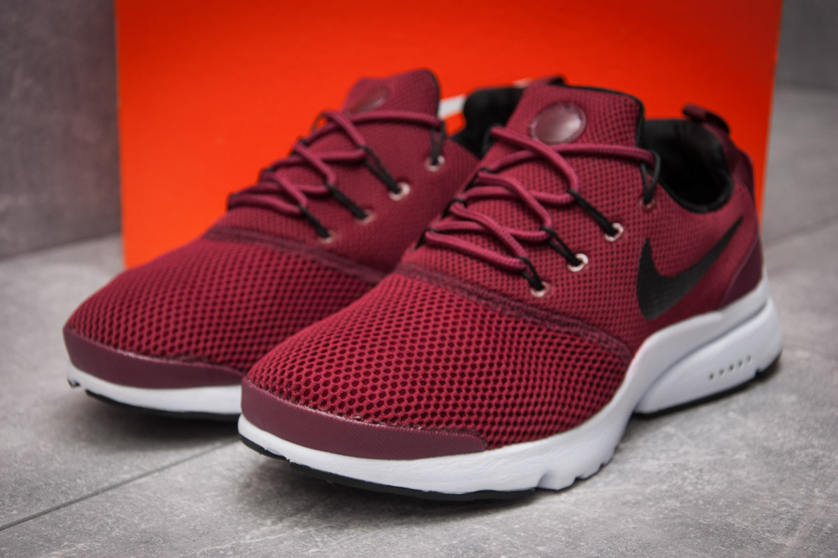 Кроссовки мужские Nike Air Presto, бордовые (13292) размеры в наличии ► [  44 45  ]
