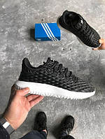 Мужские кроссовки Adidas Tubular Shadow Black White, Копия, фото 1