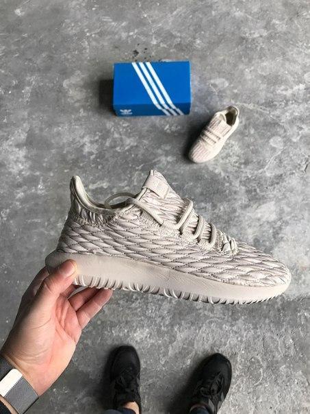 Мужские кроссовки Adidas Tubular Shadow Beige, Копия