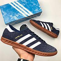 Мужские кроссовки Adidas Hamburg, Копия, фото 1