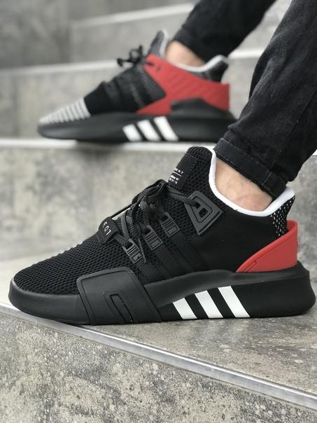 Мужские кроссовки AdidasEquipment ADV чёрные. Размеры (40,41,42,43,44,45)