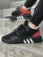 Мужские кроссовки AdidasEquipment ADV чёрные. Размеры (40,41,42,43,44,45), фото 1