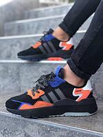Мужские кроссовки Adidas Jogger чёрные. Размеры (40,41,42,43,44,45), фото 1