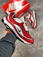 Мужские кроссовки Nike Air Max 98 красные. Размеры (40,41,42,43,44,45), фото 1
