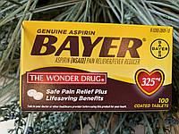 Аспирин в оболочке Bayer Aspirin 325мг, 100шт, фото 1