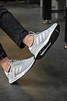 Мужские кроссовки Adidas ZX Grey серые. Размеры (40,41,44,45), фото 1