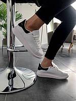 Мужские кроссовки Alexander Mcqueen белые. Размеры (37,41,42,44)