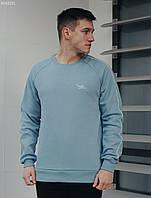 Свитшот Staff raglan blue logo fleece