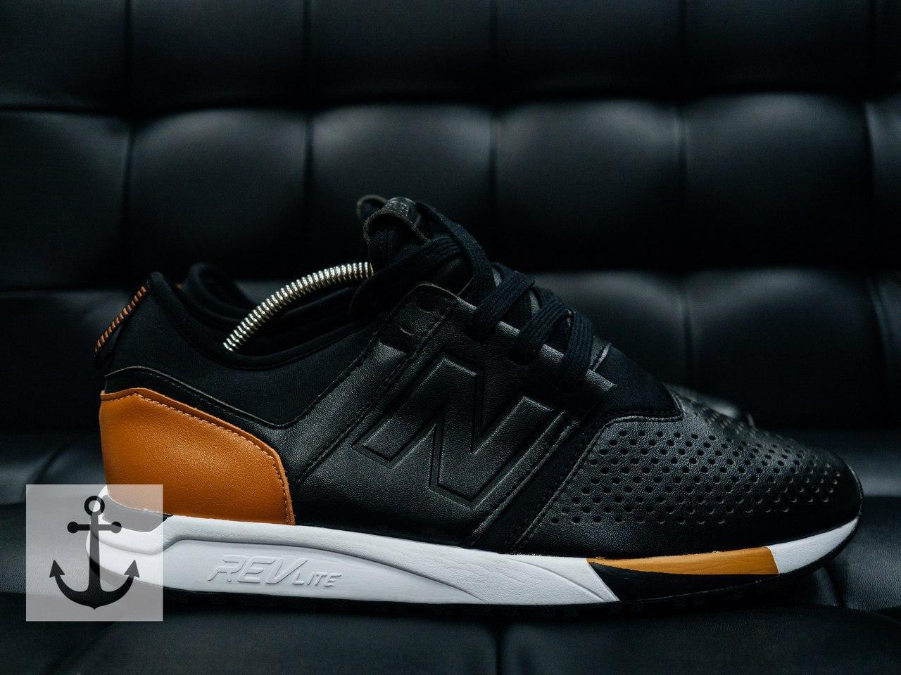 Мужские кроссовки New Balance 274 Black, Копия